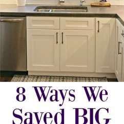 Easy Kitchen Remodel Servers 8 Ways We Saved Big On Our Frugal