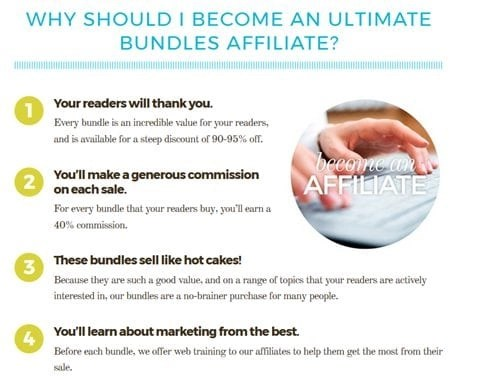Ultimate Bundles affiliate program - Click through to learn how to make money with affiliate marketing and Ultimate Bundles!