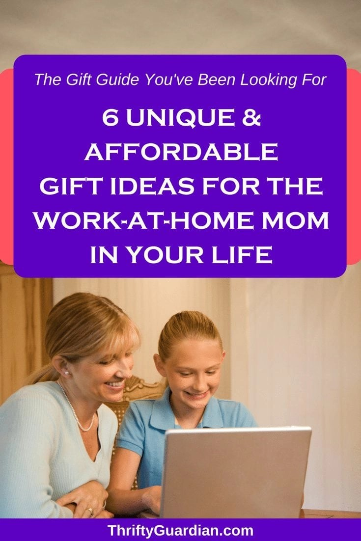 Gift ideas for a work at home mom. Click through to discover gift ideas for a wahm or sahm or the mom that says she wants nothing, but deserves everything. #wahm #giftideas #giftideasformom