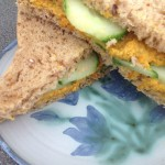 Carrot Hoummous, creamy with tahini, 31p a serving