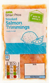 Farewell CFR, Smoked Salmon Pasta, 42p per serving