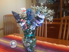 Loving leftovers, sock bouquets and using plastic bottles to make boxes