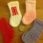 The cutest teeny tiny christmas stockings