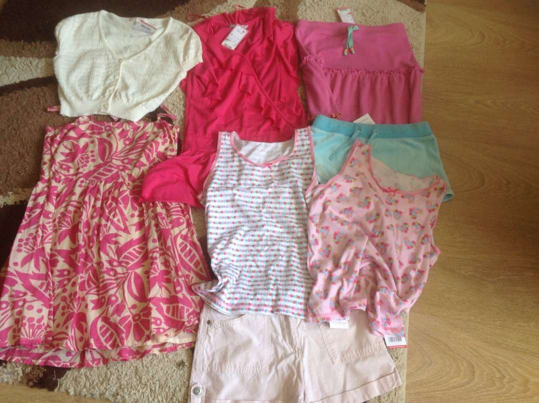 Lesley's clothes