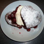 Valentine Chocolate Pudding