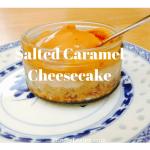 Salted caramel cheesecake