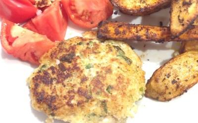 Chicken, Quinoa and Apple Burgers