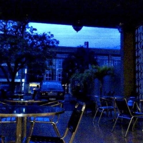 Bluer than blue. Pan de Pugon at dawn