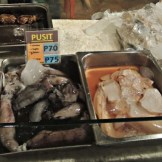 There's also tuna, prawns and nokus (bisaya term for giant squid).