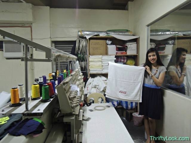 Lifeworks, Lifeworks Print Hub Butuan, Lifeworks Print Hub Bxu, Life works, printing press, towel, embroidered, digitally embroidered, embroidery, coke, coca cola,