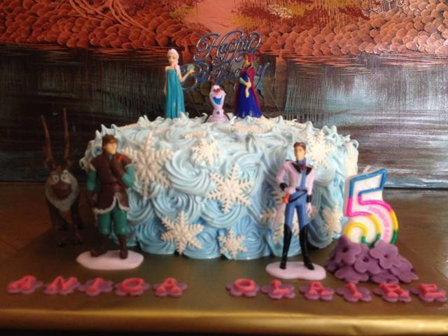 Cake In Butuan Frozen Birthday