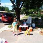 Garage sale kid's project