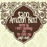 Amazing Worldwide $200 Amazon Code #giveaway