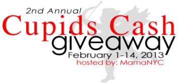 Cupid's Cash Giveaway Bash Banner