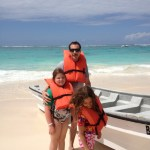 #WordlessWednesday My Parasailing Family #Travel