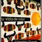 Bogota Airport Art #travel #WordlessWednesday