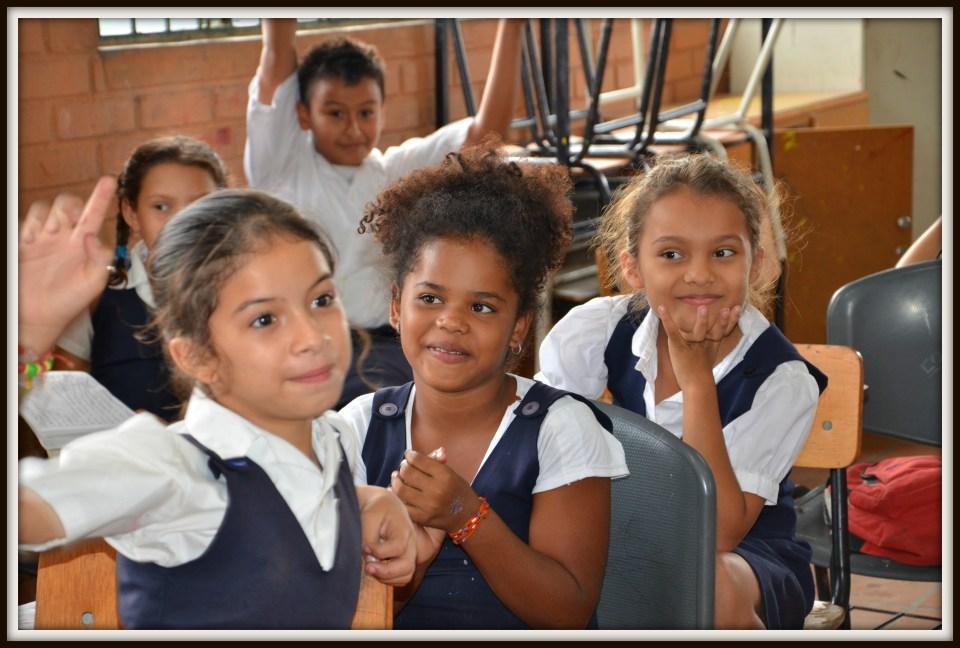 Colombian School Children