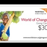 Five Facts About the World Vision Gift Catalogue 2014 #WorldVisionGifts