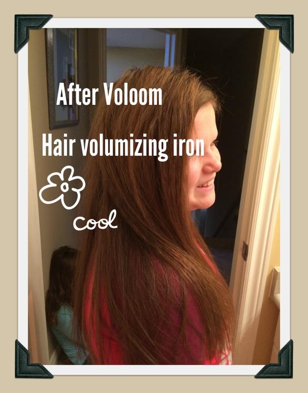 voloom hair volumizing iron
