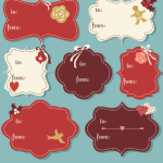 Vintage Christmas Gift Tags Free Printable