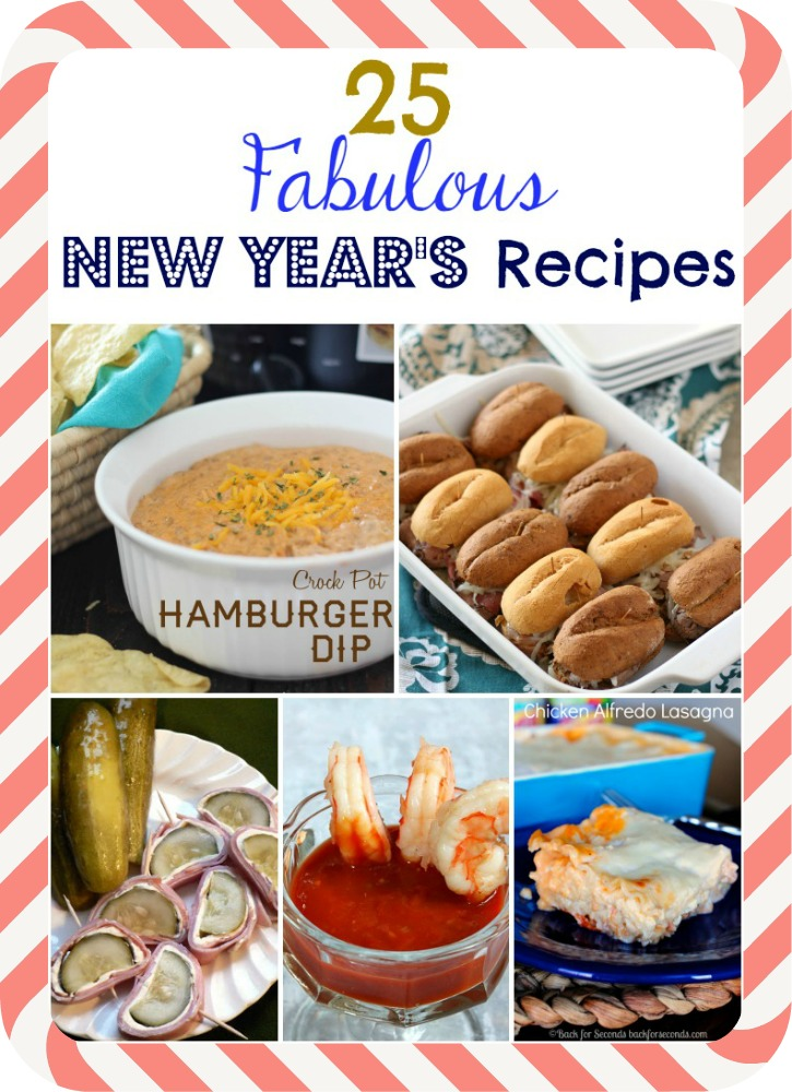 25 best New Year's Eve Recipes