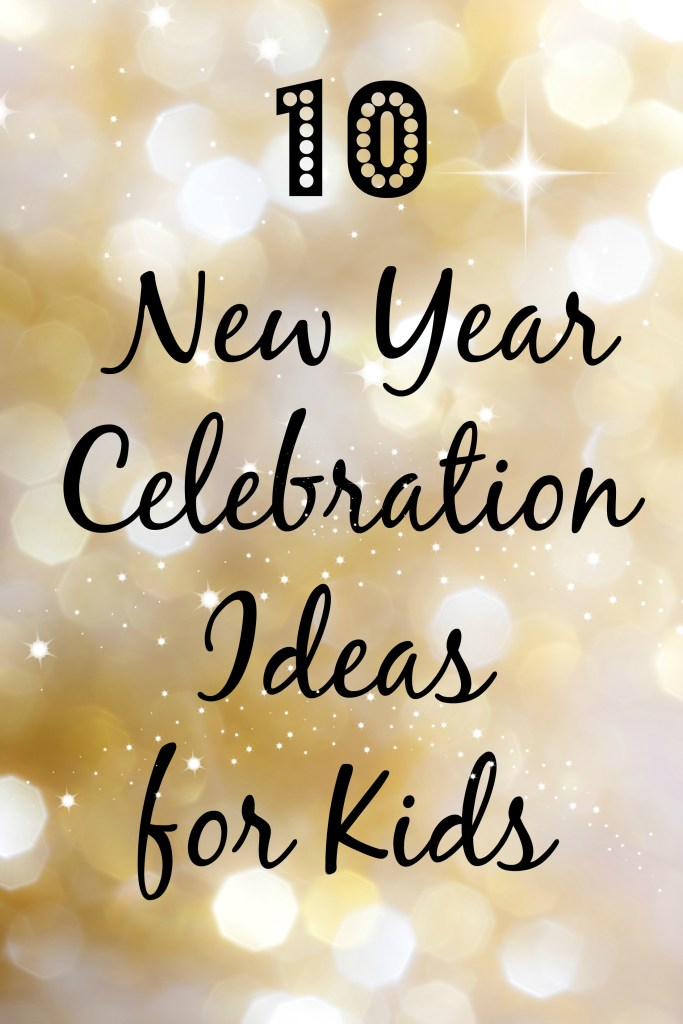 New Year celebrations for kids