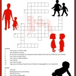 Family Day Crossword Puzzle Printable
