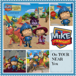 Mike The Knight On Tour in 45 Cities!