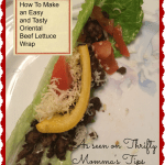 How to Make Easy, Tasty, Gluten Free Oriental Beef Lettuce Wraps