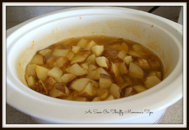 easy crockpot potato soup