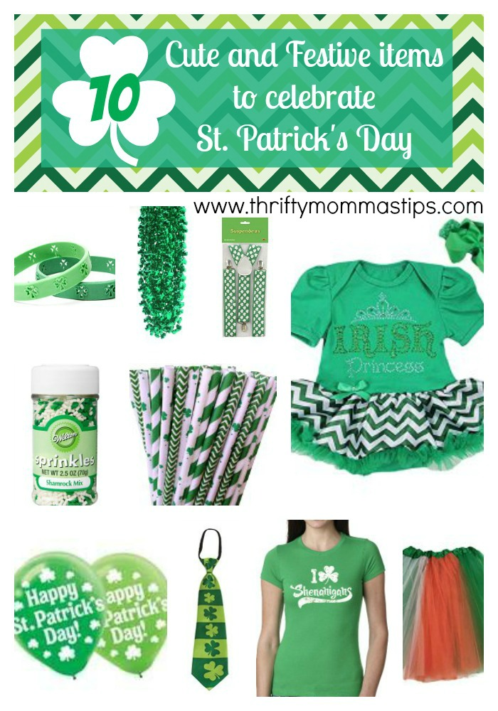 Cute and Festive St. Patrick's Day Gifts