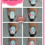 Easter Bunny Nail Art Tutorial