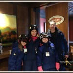 Family Ski Lessons #WordlessWednesday #Tremblant #Travel