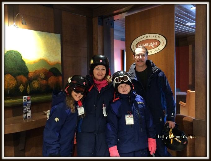 family ski lessons