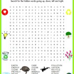 Fun Free Earth Day Word Search