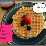 Win a Breville No Mess Waffle Maker for #MothersDay ARV $170