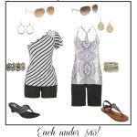 Easy Affordable Summer Style – Black and Gold