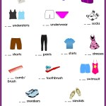Kid's Packing List Printable #travel