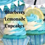 Blueberry Lemonade Cupcakes – A Splash of Flavour
