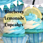 Blueberry Lemonade Cupcakes – A Splash of Flavour