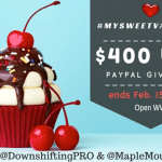It's Time For #MySweetValentine Giveaway for $400 USD