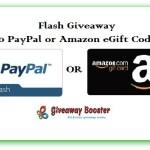 Weekend Flash Giveaway
