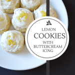 The Best Ever Lemon Cookies With Buttercream Icing