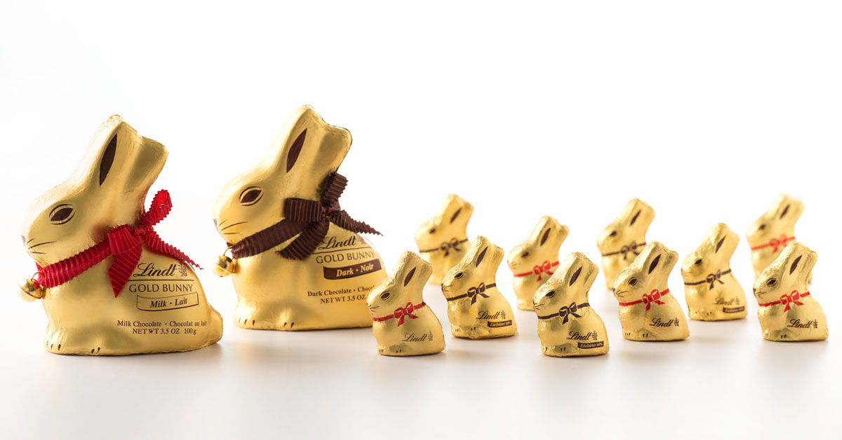 Lindts New Gold Bunny Easter App Gives Back Goldbunnystory