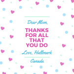 My Top Six Mother's Day Gifts From Hallmark #Giveaways