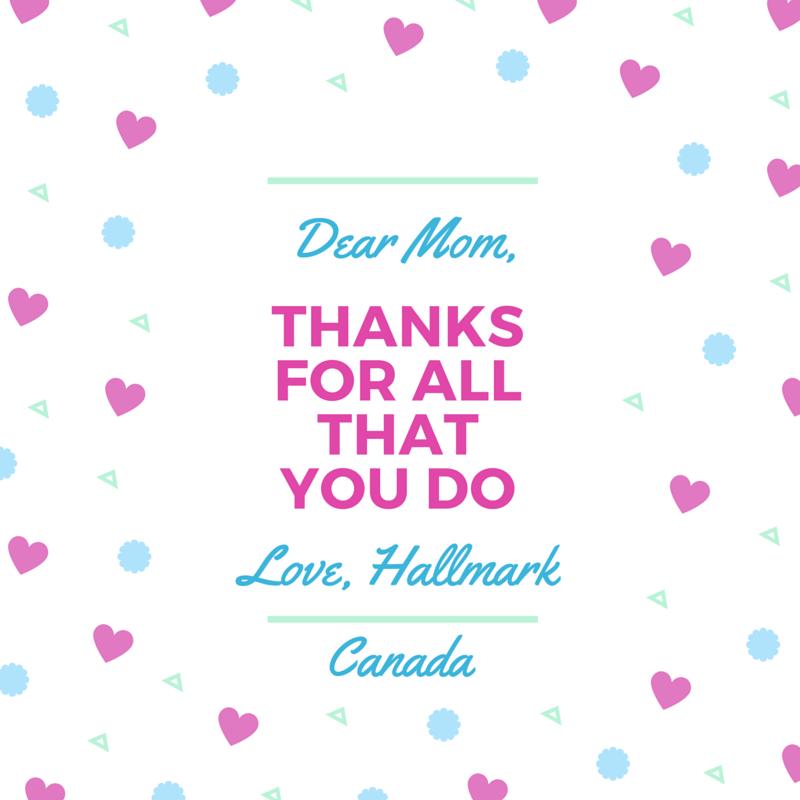 Love, Hallmark Canada