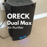 ORECK DualMax™ Air Purifier – My Allergy Season Secret Weapon #Giveaway ARV $600