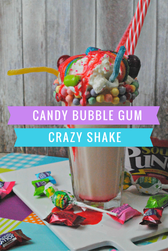 Candy Bubble Gum Shake