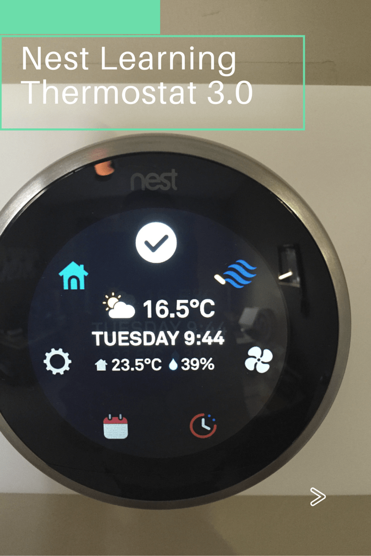 Nest Learning Thermostat 3 0