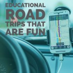Road Trips that Teach and Kids Road Trip Printable #travel